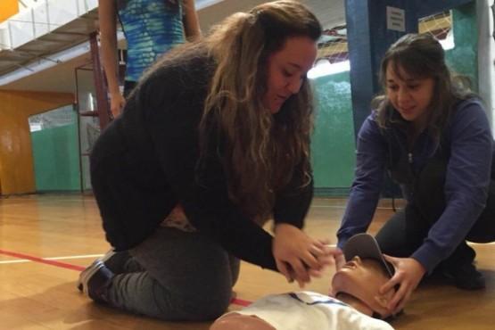 Curso de RCP y primeros auxilios