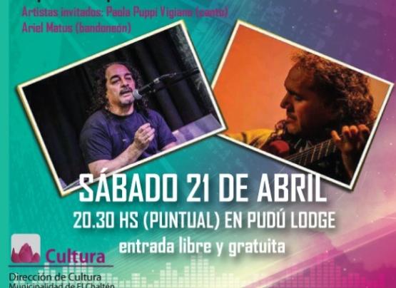 """""""Chucu"""" Rodríguez se presentará en el ciclo """"Música y Punto"""""""