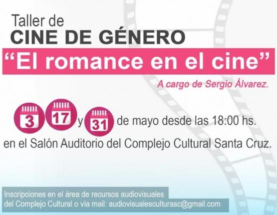 Se realizará el taller de cine de género
