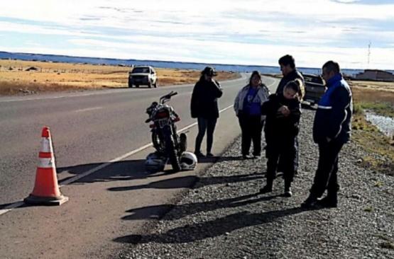 Policía recuperó moto robada