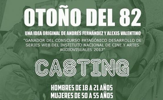 """Convocan a casting para """"Otoño del 82"""""""