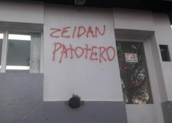 Vandalismo en el Concejo Deliberante de Río Turbio