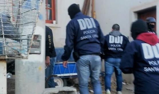 Allanamientos positivos por robo en Caleta Olivia