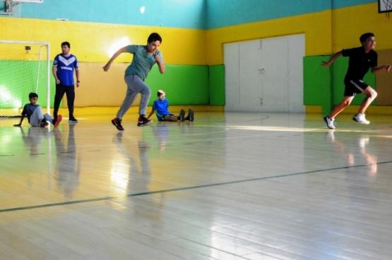 """""""Juegos de la Velocidad"""" en el Gimnasio Luis """"Lucho"""" Fernández"""