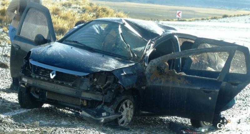 Considerables daños en el vehículo.