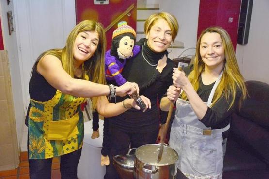 Viviana Cabezuelo, Lorena Hidalgo y Adriana Rodríguez. (Foto: C.R.)