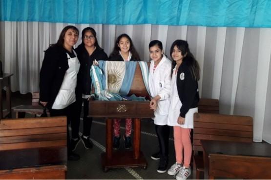 Alumnos de la EPP N° 78 presentaron la Muestra sobre Malvinas
