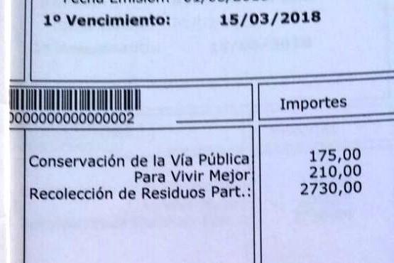Denunció que el municipio de Las Heras le cobra $2,700 mensuales por la recolección