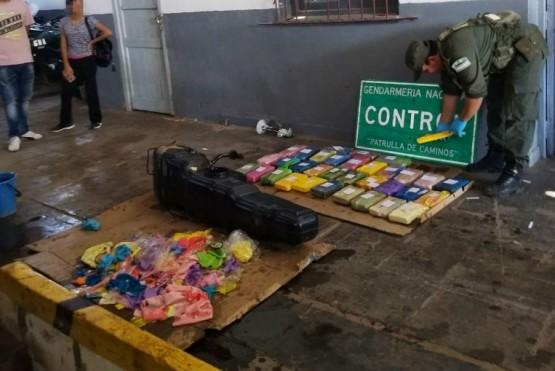 Hombre radicado en Río Gallegos transportaba 36 kilos de cocaína