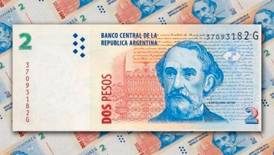 ¿Cuánto tiempo queda para canjear los billetes de 2 pesos?