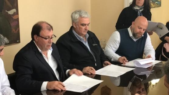 Acuerdo entre Cerro Vanguardia y Puerto San Julián