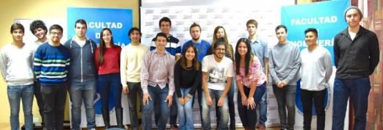 Diez nuevos estudiantes se suman a la Comunidad de Becarios PAE