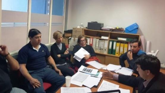 Reunión paritaria (Foto ATE)