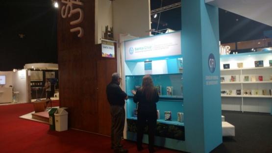Santa Cruz presente en la inauguración de la Feria Internacional del Libro