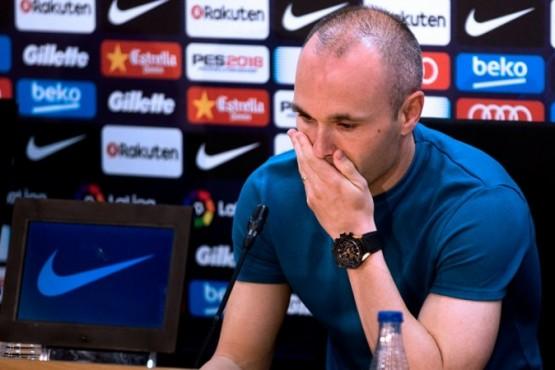 Iniesta anunció que deja el Barcelona:
