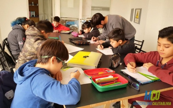 Los jóvenes se capacitan en ilustración 2d y animación
