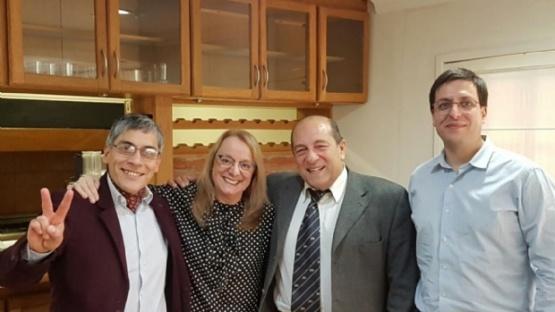 Reunión de concejales del Bloque PJ-FVS con la gobernadora Alicia Kirchner