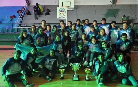Santa Cruz logró cosechar medallas doradas en los Para-Epade