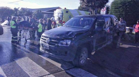 Argentinos involucrados en otro accidente