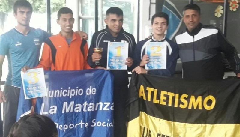 Nicolás Martínez se dio el gusto en el Nacional.