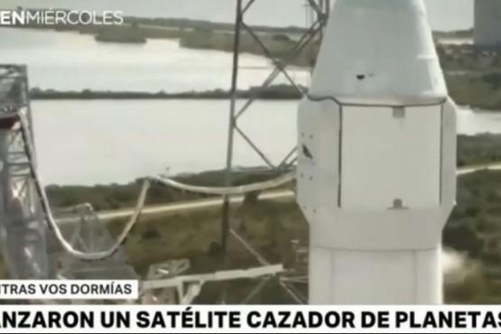 Lanzaron un satélite cazador de planetas
