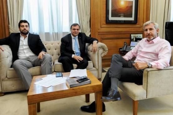 Belloni pidió a Frigerio que sostengan el SAMIC