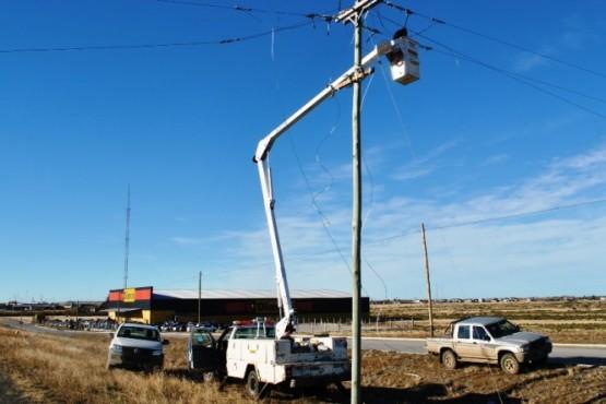 Un nuevo barrio de Río Gallegos contará con el servicio de luz