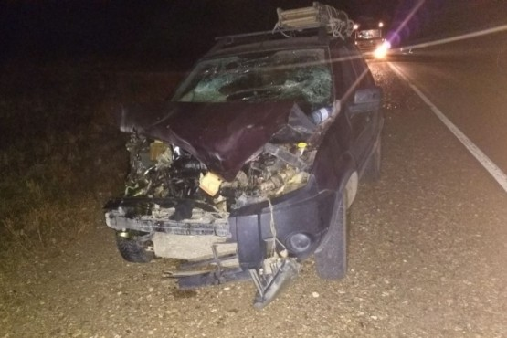 Ocho personas fueron hospitalizadas en varias colisiones