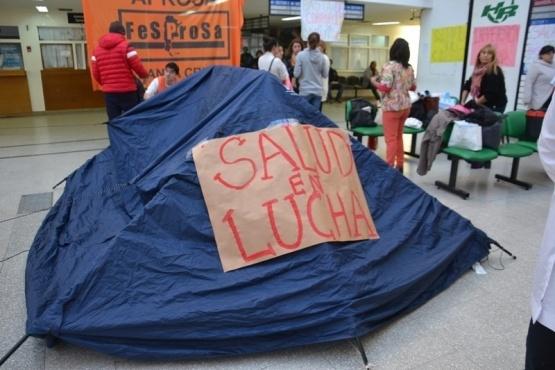 APROSA espera pago de haberes y pide apertura de paritarias de salud