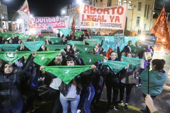 Pañuelazo por el derecho al aborto legal, seguro y gratuito