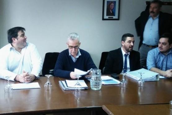 Autoridades de SPSE presentes en la comisión de Energía
