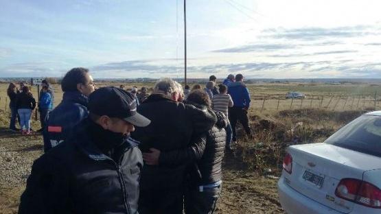 El cuerpo de Jorge Peña fue encontrado en una laguna cercana a su casa