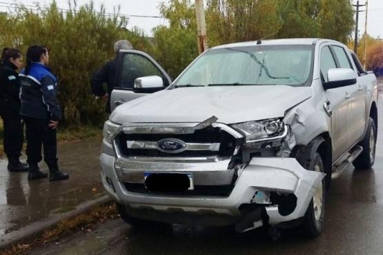 Fuerte choque en Autovía: una mujer hospitalizada