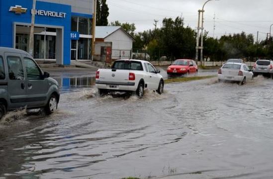 Calles inundadas. (Archivo)