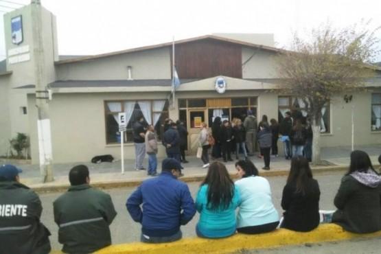Los trabajadores denunciaron que los descuentos fueron indiscriminados. (L. Sánchez Sciaini)