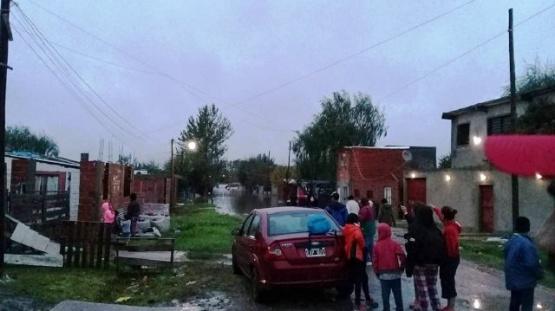 En Villa Elvira llovió en 12 horas lo que llueve en 3 meses