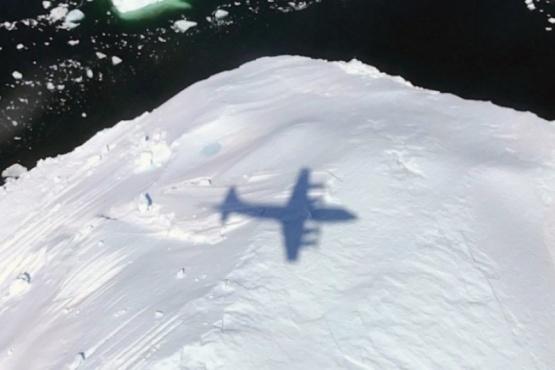 Avión de la Nasa sobrevoló la Antártida
