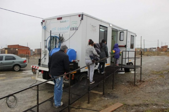 Móvil sanitario atendió a más de 150 personas en dos días