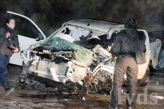 Tres heridos en triple choque: impactantes fotos
