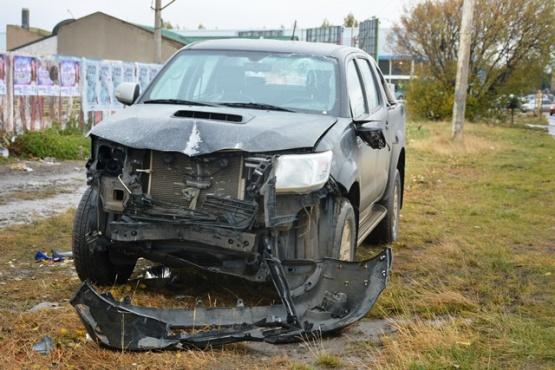 Tres heridos deja un choque provocado por un conductor ebrio