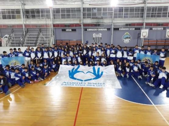 Despidieron a los jóvenes deportistas que representarán a Santa Cruz en los Juegos EPaDe 2018