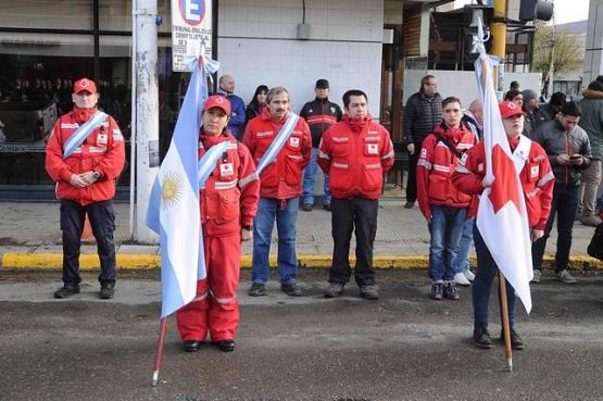 Se recordó el aniversario de la Cruz Roja Internacional