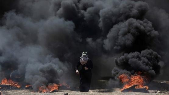 28 palestinos muertos por traslado de la embajada de EE.UU. en la Franja de Gaza