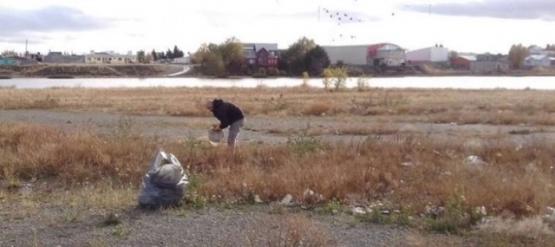 Agencia Ambiental realizó labores de limpieza en la Laguna