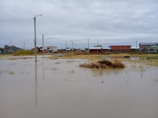 Desde hace 4 años reclaman por las inundaciones en el Padre Olivieri