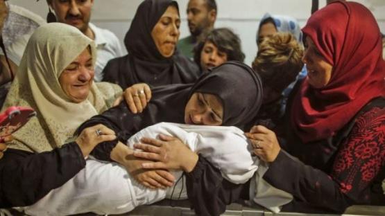 """Conmoción por la bebé de 8 meses convertida en """"martir"""" en la Franja de Gaza"""