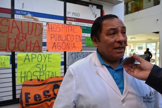 Manifiestan preocupación por presunta renuncia del Dr. Pesce a la Dirección Médica del Hospital