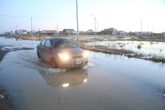 Presentaron nota al municipio para solución a las inundaciones