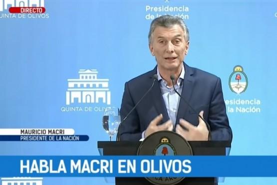"""Mauricio Macri habló sobre las """"veredas calientes"""""""