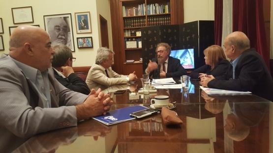 Dirigentes de CAME se reunieron con senadores patagónicos